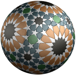 Tiled ball image